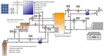 Home Design Diagram home heating design diagram of hydronic heating system heating on home