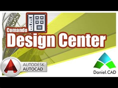design center en autocad 2015 autocad 2015 design center youtube