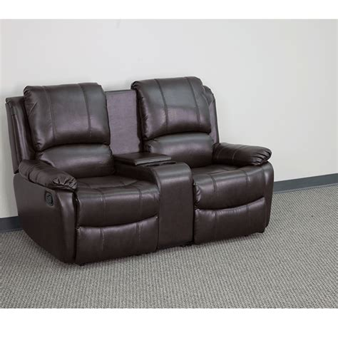 Leather Reclining Sofa With Cup Holders by Leather Sofas With Drink Holders Sofa Menzilperde Net