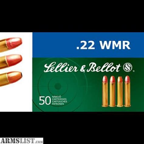 22 mag ammo in stock armslist for sale 22 magnum ammo in stock s b 40gr fmj