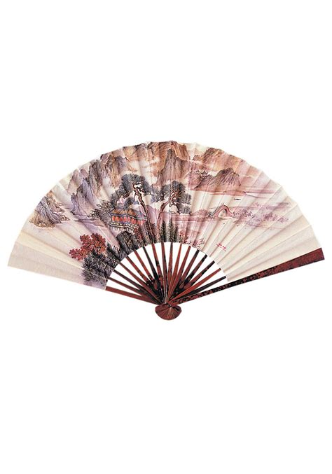 How To Make A Japanese Paper Fan - japanese paper fan geisha costume accessory