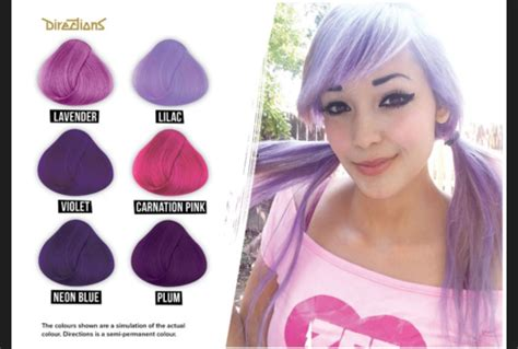 la riche directions semi permanent hair colour carnation cheap la riche directions lavender semi permanent hair