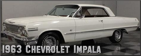1963 chevrolet impala factory paint colors
