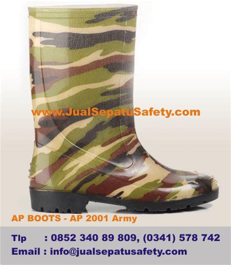 Sepatu All Army toko sepatu boots anak motif tentara army warna hijau