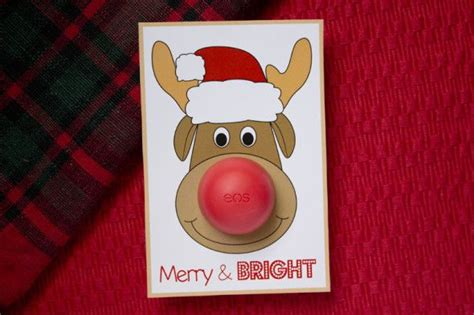 Eos Reindeer Card Free Template by Eos Cards With Rudolph The Reindeer Eos Lip