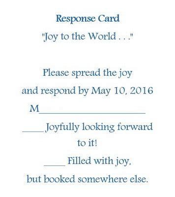 wedding invitation rsvp cards  wording theroyalstore