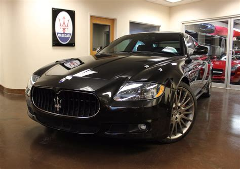 maserati luxury used 2010 maserati quattroporte stock p3845a ultra