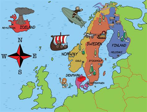 the languages of scandinavia seven of the books top 10 most popular misconceptions about scandinavia