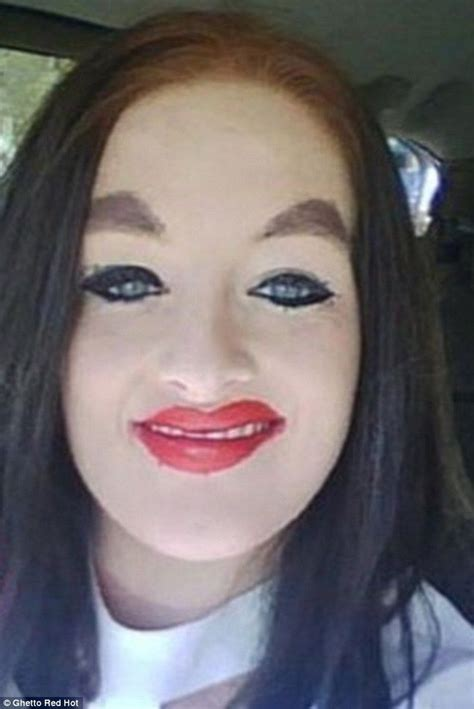 7 With The Worst Makeup by Are These The World S Worst Make Up Disasters