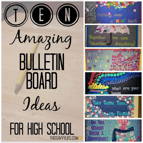 bulletin board design for home economics 10 bulletin board ideas for high school classroom ideas
