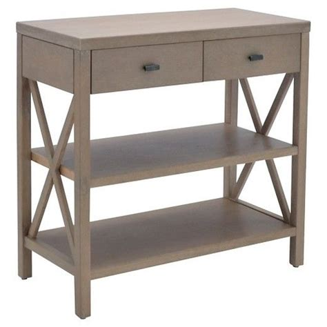 owings console table with 2 shelves and drawers rustic threshold 183 best furniture images on dresser buffets