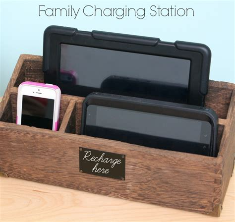 diy charging station ideas 16 charging station ideas to eliminate device clutter