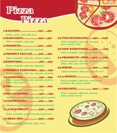 Pizza Menu Pizza Menu By Eneaziu On Deviantart