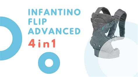 infantino flip advanced 4 in 1 convertible carrier light grey infantino flip advanced 4 in 1 review itty bitty baby bunz