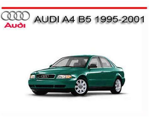 old cars and repair manuals free 1995 audi 90 electronic valve timing audi a4 b5 1995 2001 service repair manual download manuals