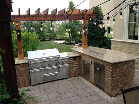 Brick Outdoor Kitchen Pics - outdoor kitchen pics outdoor kitchen installation in