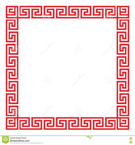 chinese pattern frame vector chinese decorative square frame stock vector image 78848308