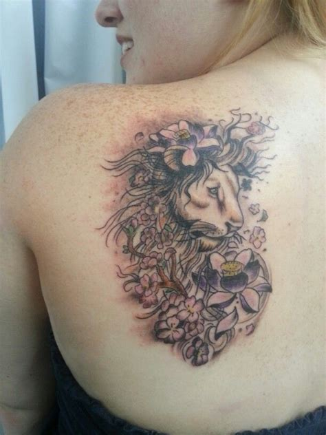 girly lion tattoos 25 best ideas about on