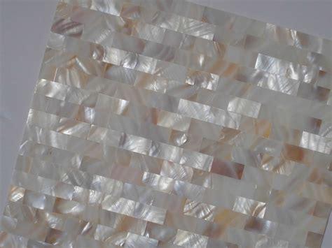mother  pearl tile shower liner wall backsplash