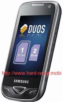reset factory samsung grand duos samsung gt b7722 duos hard reset hard reset