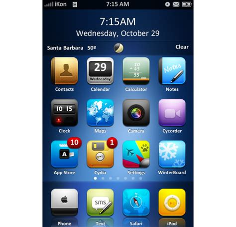 themes for iphone icons enhance your apple iphone with these beautiful free themes