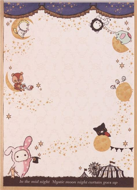 imagenes de sentimental circus kawaii memo pad sentimental circus bunny shappo moon japan