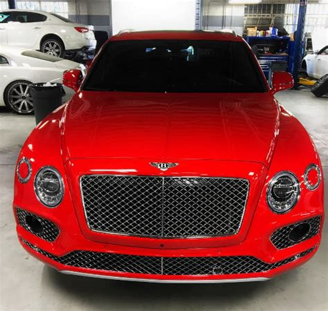 Rapper The Game Buys A 2016 Bentley Truck