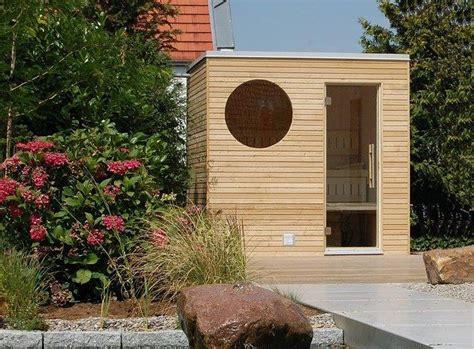 Sauna Im Garten by Die Edle Sauna F 252 R Ihren Garten Oder Ihre Dachterrasse