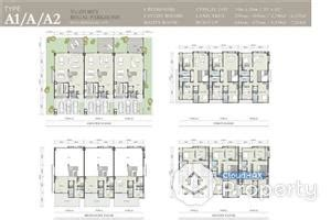 zenia layout plan terrace house for sale at the mansions for rm 3 800 000