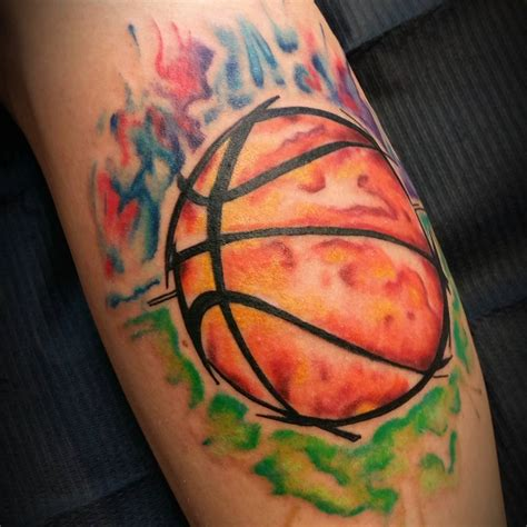 basketball tattoo design 45 best basketball tattoos designs meanings