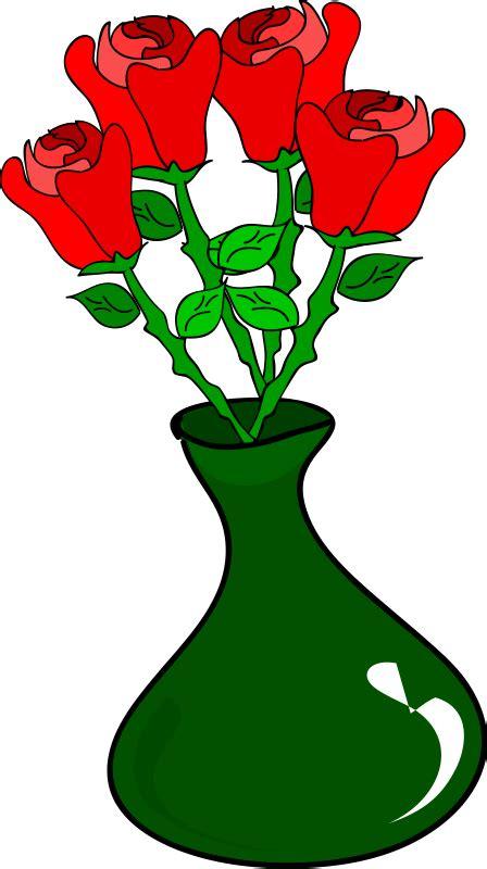 Flower With Vase Pictures Flower Vase Clip Art Clipart Best