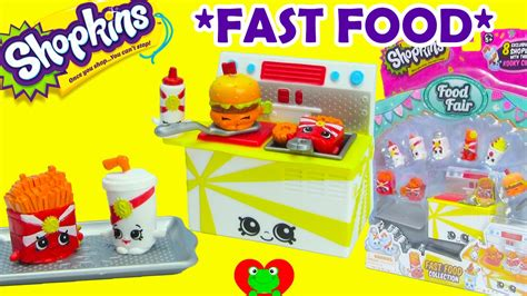 Shopkins Food Fair Fast Food Collection 1 shopkins fast food collection playset season 3 food fair