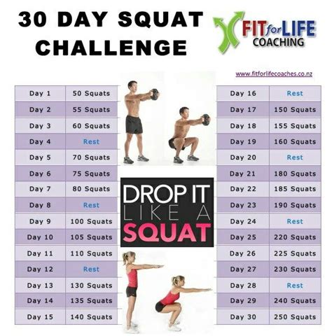 different types of challenges squat challenge for beginners www imgkid the image
