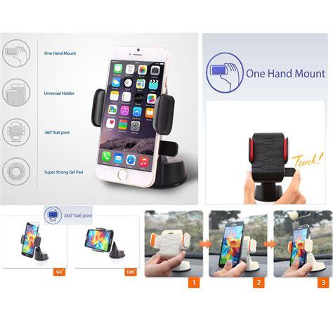 Dash Crab Touch Holder Smartphone Mobil dash crab touch smart phone holder rotate 360 186 one touch