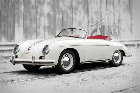 A Porsche 1956 Porsche 356 A 1600 Speedster Uncrate