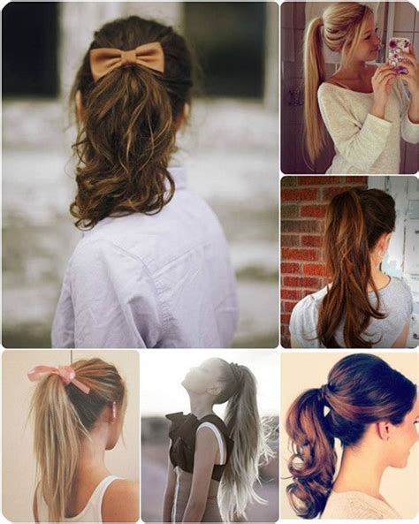 quick and easy ponytail hairstyles for school 10 quick easy and best romantic summer date night