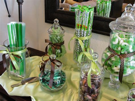 Green Baby Shower Decorations by Davis Events A Green And Brown Elephant Boy Baby