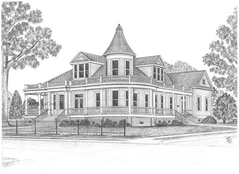 pencil drawings of houses victorian house drawing pencil pencil sally ringgold house alexandria la pencil drawing by