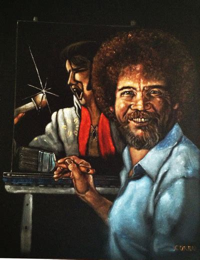 bob ross painting manning post your favorite work of tigerdroppings