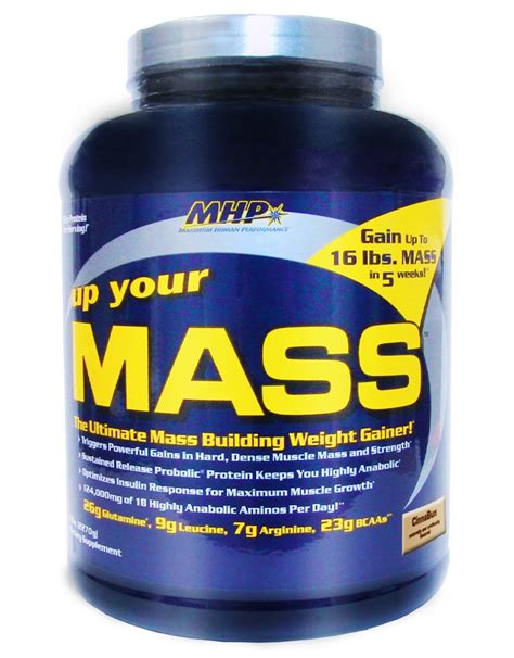 Up Your Mass 46lbs Mhp rollover to zoom