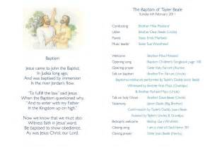 Baptism Template Lds by Lds Baptism Program Template Out Of Darkness