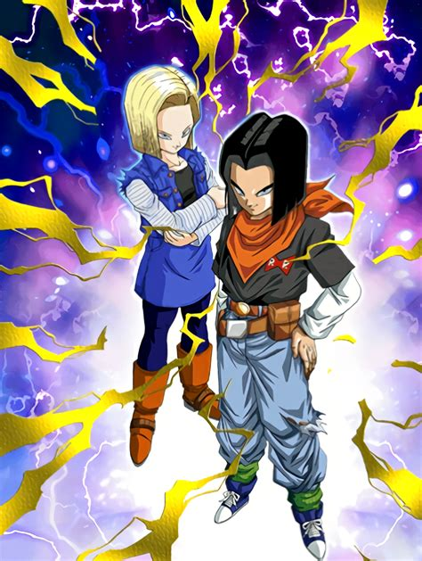 android 17 and 18 unbridled horror androids 17 18 z dokkan battle wikia fandom powered by wikia