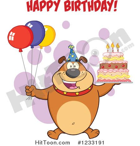 Happy Birthday Clip With Dogs Free by High Resolution Birthday Clipart 35