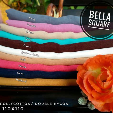 Square Jilbab Premium Hycon grosir segiempat square baru trend murah berkwalitas sentral grosir jilbab kerudung i