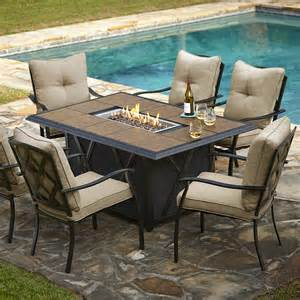 1314 99 grand resort wildwood 7pc lp fire pit dining set dealepic