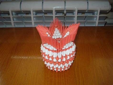 3d origami orange tutorial 3d origami vase tutorial 4 origami projects pinterest