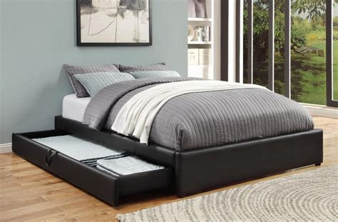 black queen bed frame with storage black queen bed with storage modern beds new york