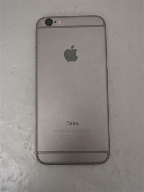 Hp Iphone Model A1549 at t 16gb apple iphone 6 model a1549 space gray smartphone tested no sim card ebay