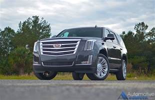 The Cadillac Escalade In Our Garage 2016 Cadillac Escalade 4wd Platinum