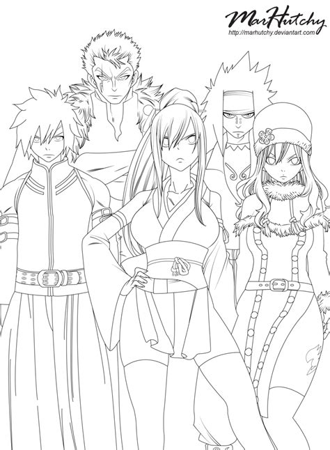 fairy tail erza coloring pages coloring home